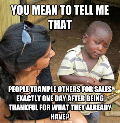 Black African Kid Meme - sketptical african kid meme on throwing out the meaning of