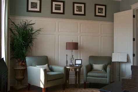 Wallpaper That Looks Like Wainscoting by Wainscoting Emily Interiors