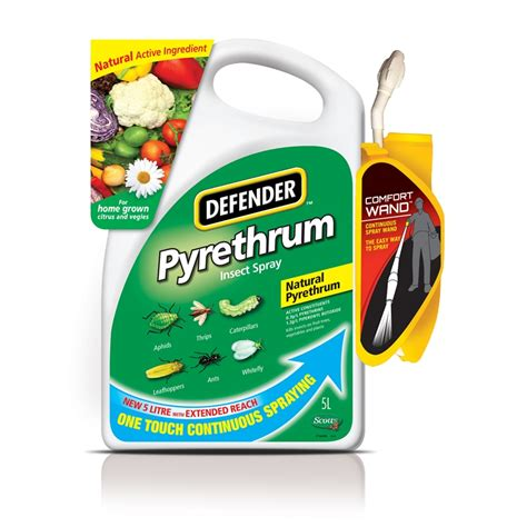 garden pest spray defender 5l pyrethrum garden insect spray bunnings warehouse