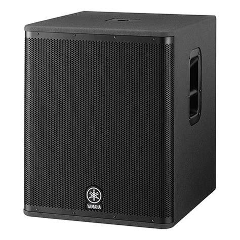 Speaker Yamaha Dsr 118 yamaha dsr118w 171 active pa speakers