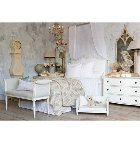 french country headboard louis xvi french country white cotton upholstered