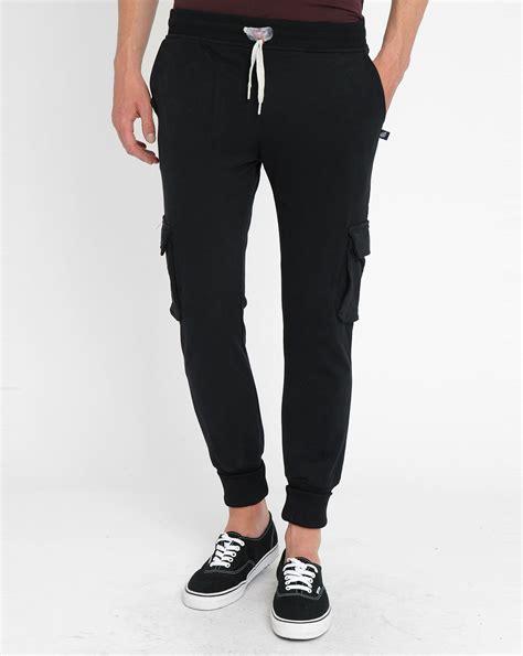 Celana Jogger Cargo Black Sweatpants Chino 27 model jogger partner for sobatapk