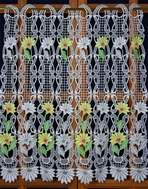 macrame lace curtains yardage macrame lace curtain