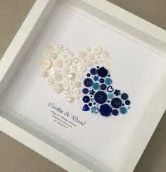 LUXURY SAPPHIRE 45th 65th WEDDING ANNIVERSARY CARD