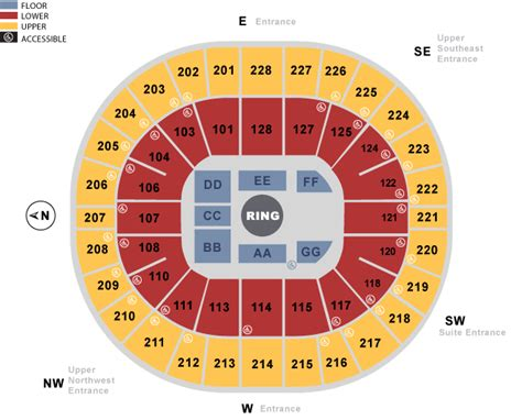 Key Arena Box Office by Keyarena Seating Charts