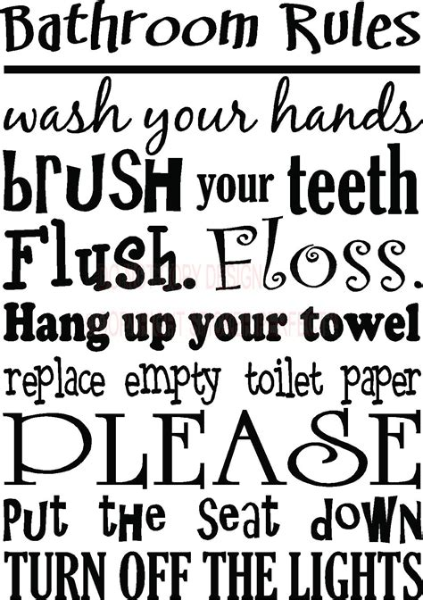 online bathroom quote 7 best images of free printable decals sayings cute