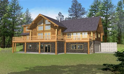 log home floor plans with garage and basement log home plans with basement log home plans with loft