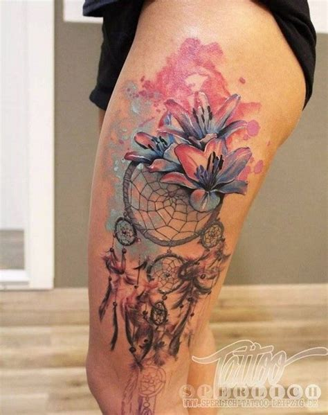 watercolor dreamcatcher tattoo 45 dreamcatcher design ideas for creative juice