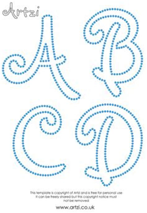 String Letter Templates - pattern use the printable outline for crafts
