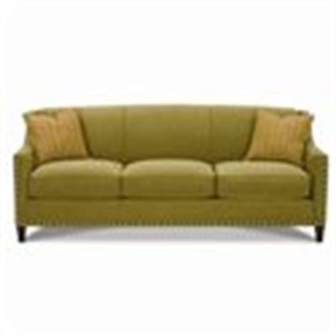 rowe rockford sofa rowe rockford traditional upholstered sofa with nailhead