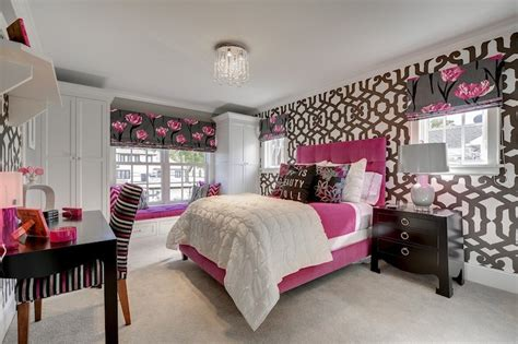 perfect teenage bedroom pink and gray bedroom contemporary girl s room great