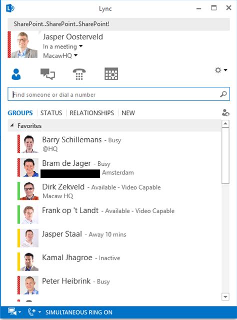 Office 365 Chat Communicate With Colleagues Through Chat On Office 365