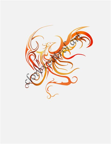 phoenix tattoo design by stefuuni on deviantart