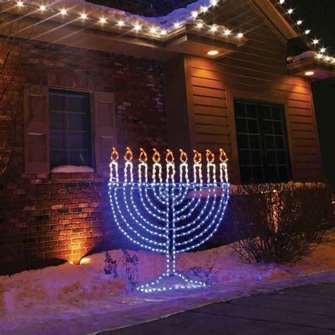 Hanukkah Outdoor Decorations Lights 17 Best Images About Hanukkah On Hanukkah Crafts Hanukkah Cards And Hanukkah