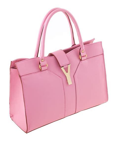 The Pink Bag classe baby pink leather handbag designer bags
