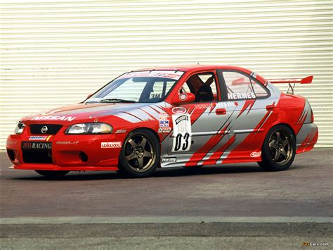 nissan sentra race car nissan sentra se r spec v world challenge race car b15