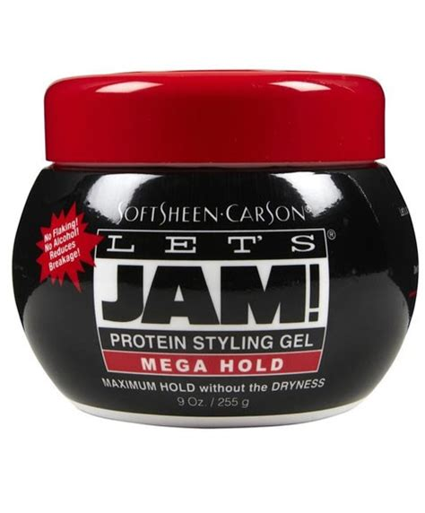 styling gel mega hold softsheen carson lets jam lets jam mega hold protein