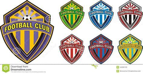 football club logo stock vector image 44595133