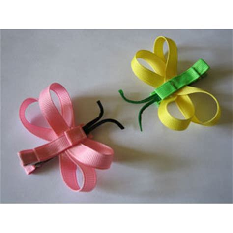 Handmade Hair Clip - butterfly handmade alligator hair clip