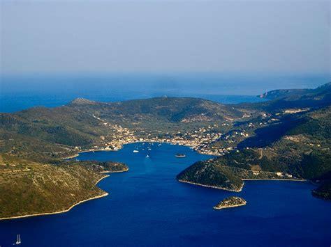 Fla Maxy ithaca island greece from the sea and from the gidaki