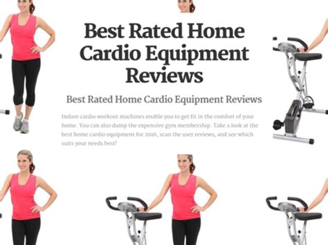 best home cardio equipment reviews a listly list