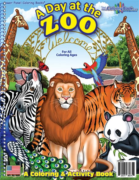 zoo picture book coloring books zoo coloring book