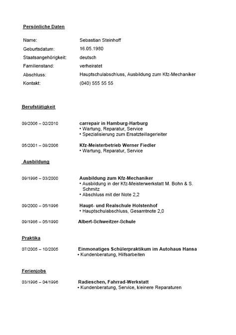 Lebenslauf Kaufmannischer Beruf Antrag Auf Erstattung Images Frompo 1