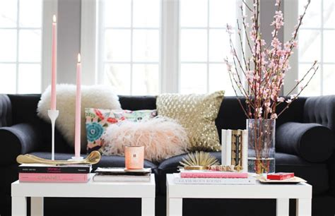styling a coffee table how to style a coffee table the everygirl