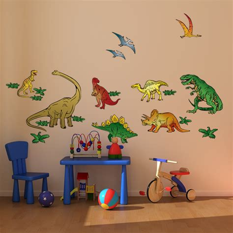 dinosaur stickers for walls dinosaur stickers for walls home design