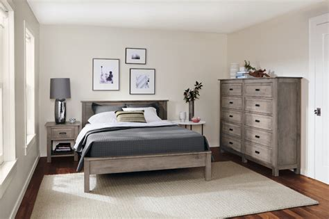 bedroom collection in shell finish by r b modern