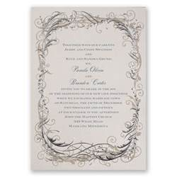 wedding invitations with pictures templates vintage shine invitation invitations by