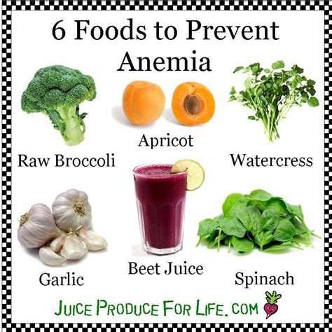 7 Ways To Prevent Anemia by Foods That Prevent Anemia Health