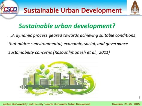 sustainability in urban and rural development what you applied sustainability and eco city towards sustainable