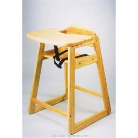 dominion st 5 wooden high chair w tray mahogany