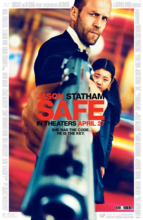 film jason statham motarjam safe movie poster starring jason statham collider
