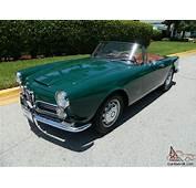 1964 ALFA ROMEO 2600 SPIDER 26L INLINE DOHC 6 CYLINDER