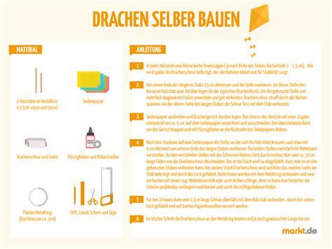 Drachen Bauen Mit Kindern Anleitung 6677 by Einen Drachen Selber Bauen Markt De