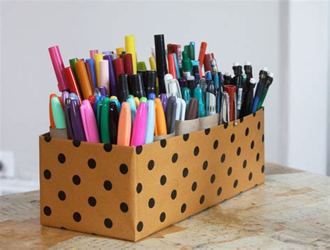 Crafts With Paper And Markers - 14 clever craft storage ideas