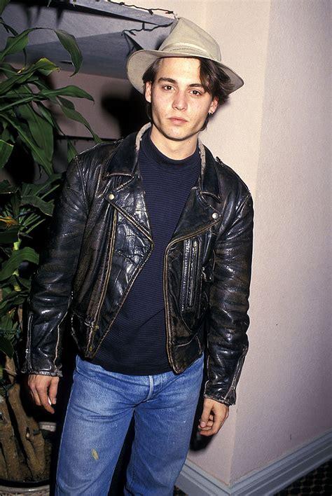 G Ci Grape Leather johnny depp le foto dagli anni 80 a oggi