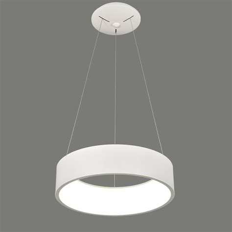 eclairage suspension suspension circulaire blanche 224 led pour 233 clairage de