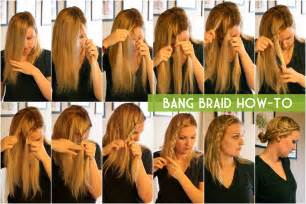 how to i plait my own side hair ruffling feathers bang braid how to