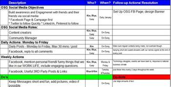Social Network Business Plan Template Social Media Marketing Tips That Help Attract Amp Engage