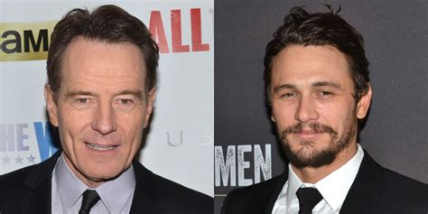 bryan cranston and james franco broadway vets bryan cranston and james franco to star in