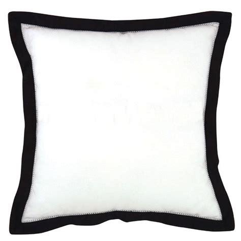 black and white cusions amalfi black and white cushion 45x45cm hupper