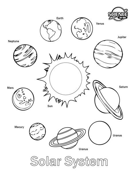 Planets Coloring Pages Coloringsuite Com Coloring Pages Of Solar System