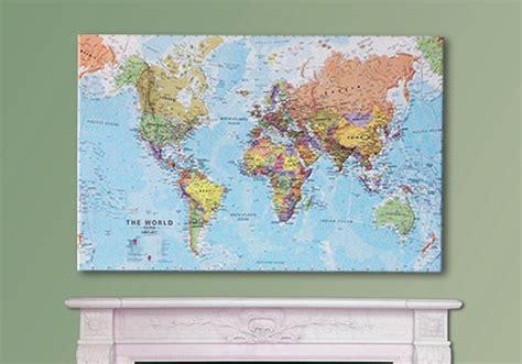 map world canvas canvas world map x large wm1124 maps international