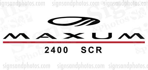 maxum boat vinyl maxum logo decals