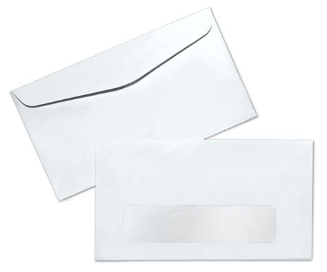 standard window envelope template 7 24lb white wove standard window commercial envelopes