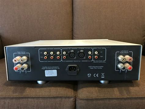 hegel audio hegel audio h200 integrated lifier used sold