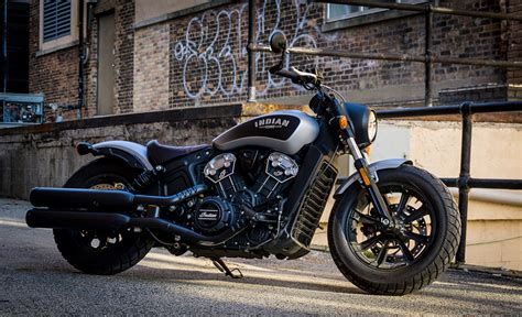 Indian Moto Scout Bobber by 2018 Indian Scout Bobber